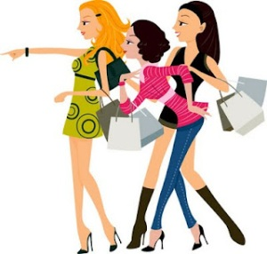 Shopping-vector-woman2