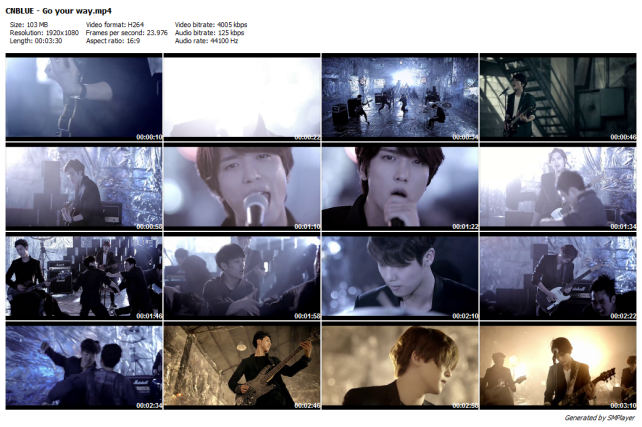 CNBLUE - Go your way_preview